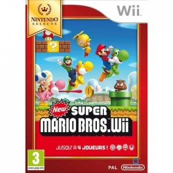 New Super Mario Bros Selects Jeu Wii