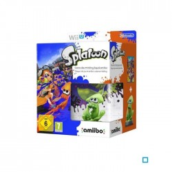 Splatoon Jeu Wii U + Amiibo Squid