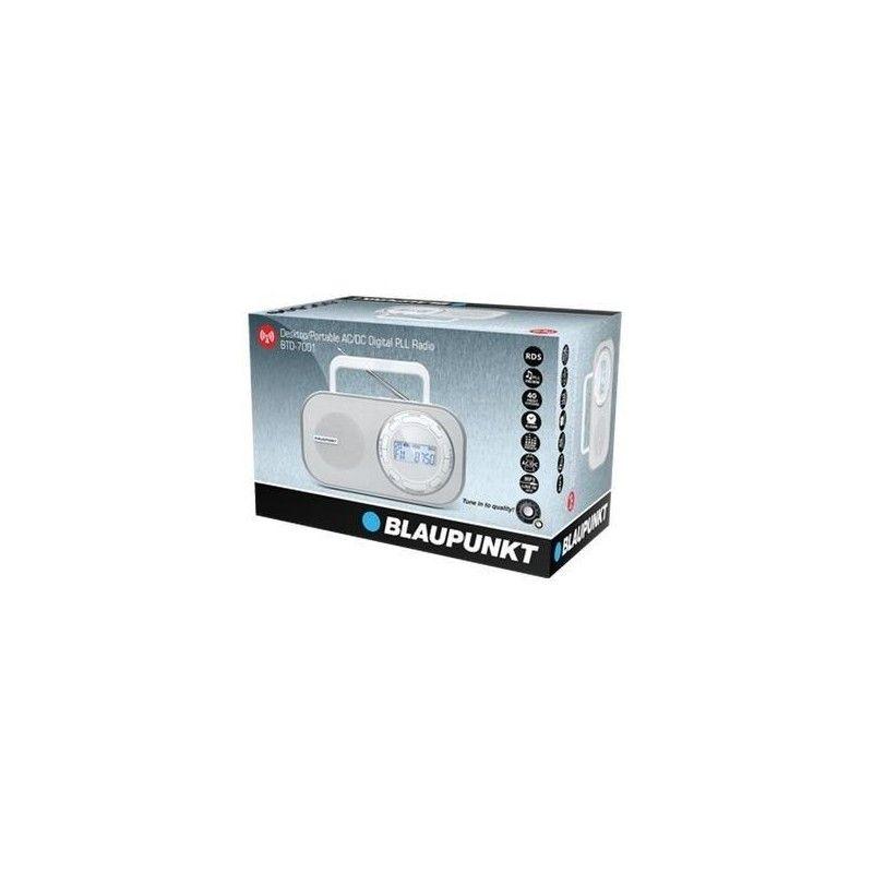 Blaupunkt btd 7001 radio num rique de bureau portable for Radio numerique portable