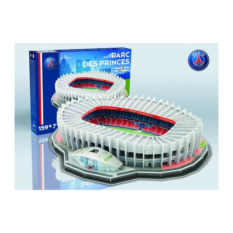 megableu puzzle stade 3d parc des princes psg. Black Bedroom Furniture Sets. Home Design Ideas