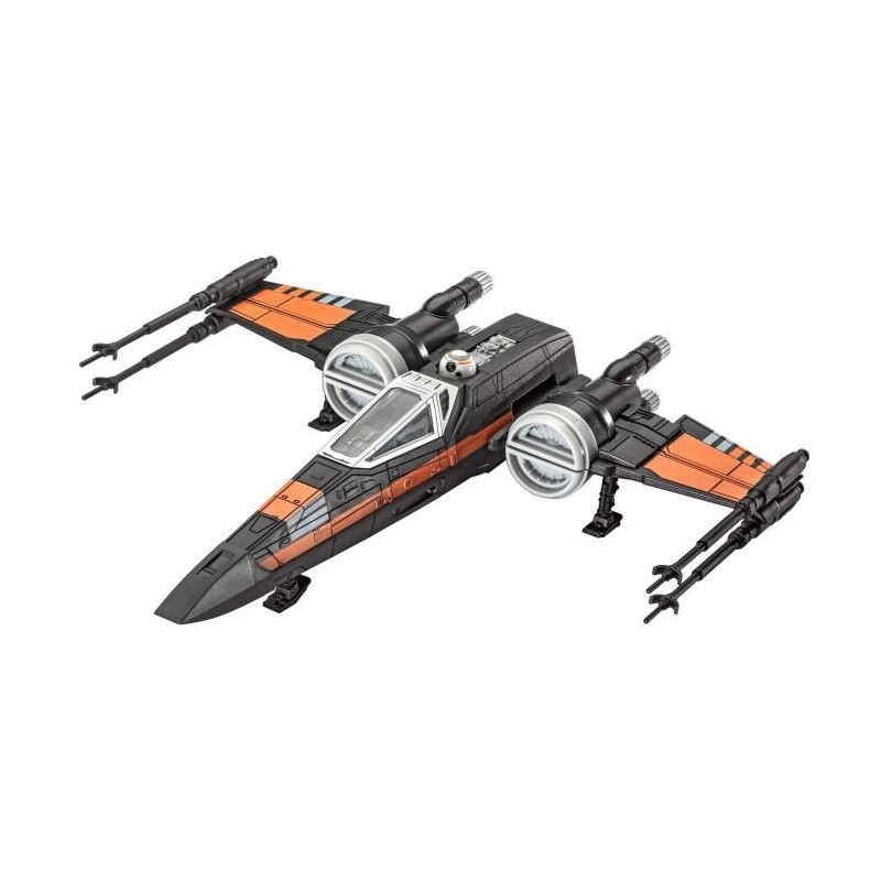Star Wars Build Play Poe S X Wing Fighter Maquette Pour Enfant