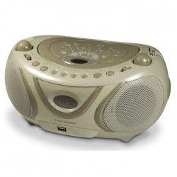 MET 477114 Radio CD-MP3 Soft grey