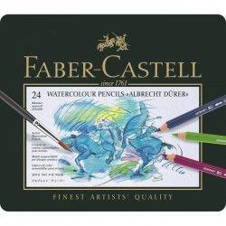 FABER-CASTELL Boîte 24 Crayons de Couleur A. Dürer
