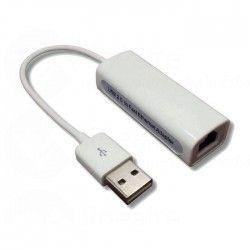 Adaptateur USB mâle / RJ45 femelle