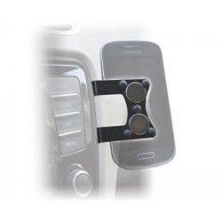 Easymount Support Voiture Metallique + 2 Aimants Pour Smartphone