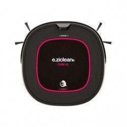 E.ZICLEAN CUBE XL Aspirateur robot ? 55 dB - Noir