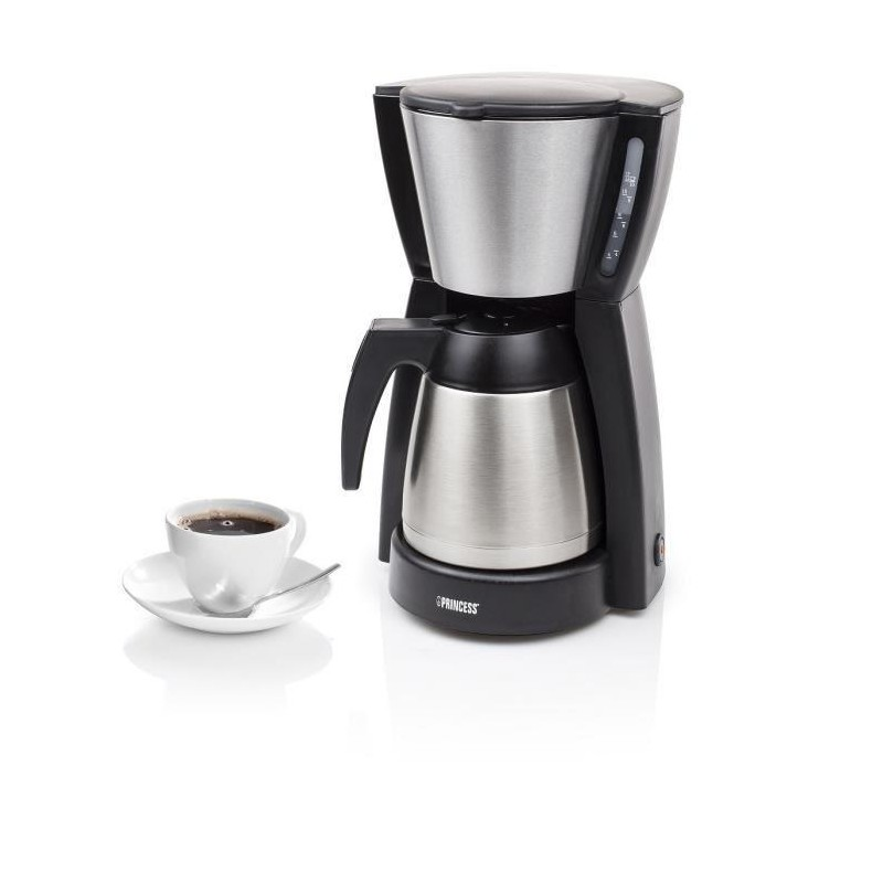 princess 242239 cafetiere lectrique a filtre avec verseuse isotherme. Black Bedroom Furniture Sets. Home Design Ideas