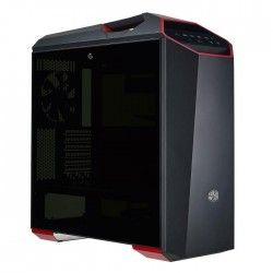 Cooler Master Boîtier PC MasterCase Maker 5t - Moyen Tour - Modulaire - Fenetre - Gris métallique / Rouge