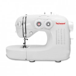 TECHWOOD TMAC-421 Machine a coudre ? 42 pts - Blanc