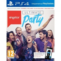 SingStar : Ultimate Party Jeu PS4