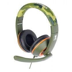 Casque Gaming X Storm Tactical Camo Vert PS4 - Xbox One