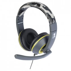 Casque Gaming X Storm Tactical Camo Grist PS4 - Xbox One