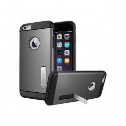 Spigen Slim Armor Coque pour iPhone 6 Plus Gris