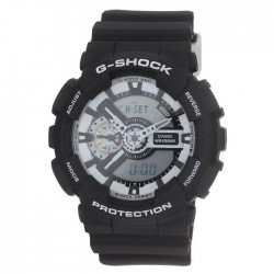CASIO Montre Quartz G-shock GA-110BW-1AER Homme