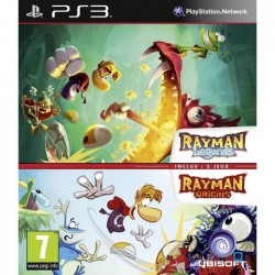 Compil Rayman Legends + Origins Jeu PS3