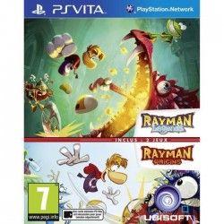 Compil Rayman Legends + Origins Jeu PS Vita