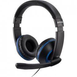 Casque Gaming Stéréo XH100 Bleu pour PS4, Xbox One et PC-MAC
