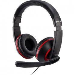 Casque Gaming Stéréo XH100 Rouge pour PS4, Xbox One et PC-MAC