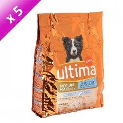 ULT Croquettes Medium-Maxi au poulet - Pour chien junior - (x5)