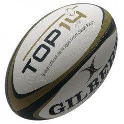 GILBERT Mini Ballon Rugby Top 14 RGB