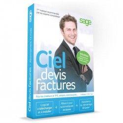 Ciel Devis Factures 2017 Abonnement 12 mois