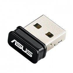 ASUS Adaptateur réseau USB-N10 NANO - USB 2.0 - 802.11b, 802.11g, 802.11n