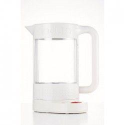 BODUM BISTRO 11659 Bouilloire électrique avec régulateur de température - 1.1L - Blanc Creme