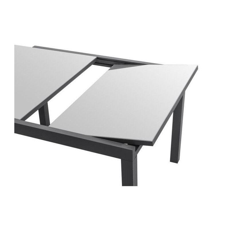 ensemble de jardin 1 table extensible 120 180 6 chaises. Black Bedroom Furniture Sets. Home Design Ideas