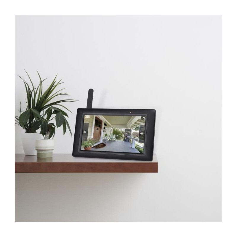 smartwares kit de surveillance connect sans fil avec. Black Bedroom Furniture Sets. Home Design Ideas