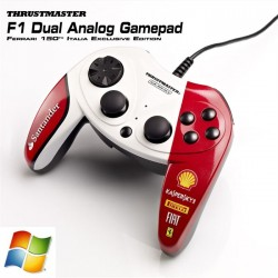 THRUSTMASTER Manette F1 DUAL ANALOG F150 ITALIA - Filaire - 10 boutons - PC