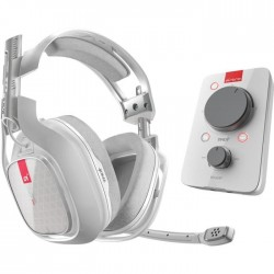 Casque gaming A40 TR + MixAmp Pro TR - Xbox One, PC - Blanc