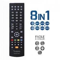 MELICONI FULLY 8 NEW Télécommande universelle 8 en 1