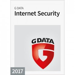 G Data Internet Security 2017 - 3 postes / 1 an - Box