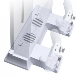 Aero S - Stand Vertical Ventilé avec Dock Charge Manettes Xbox One S