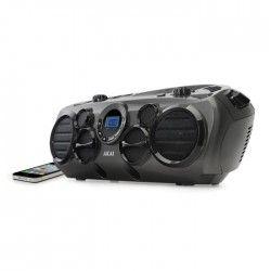 AKAI AB-51T Boombox avec 6 Haut-parleurs - Radio - CD - MP3 - Port USB