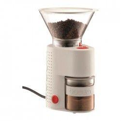 BODUM BISTRO 10903 Broyeur a café électrique - Blanc Creme