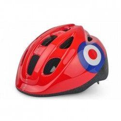 POLISPORT Casque Vélo Enfant Target 52/56 cm + Bidon 300 ml + Porte Bidon