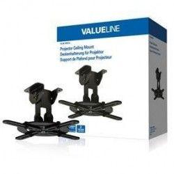 VALUELINE VLM-PM10 Support plafond pour projecteur mouvement intégral - Poids max. 10 kg - Noir
