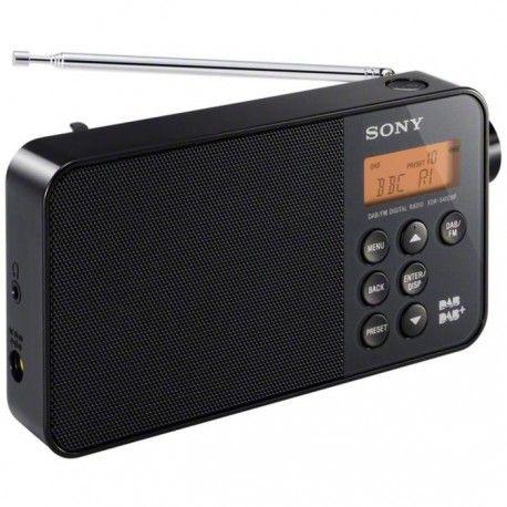 SONY XDR S40DBP Radio portable FMDABDAB+ Noir