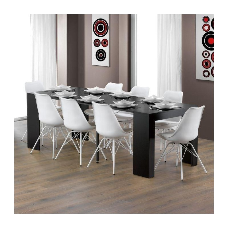 Finlandek Table A Manger Extensible Naurra 8 Personnes 50 90 135 180 2