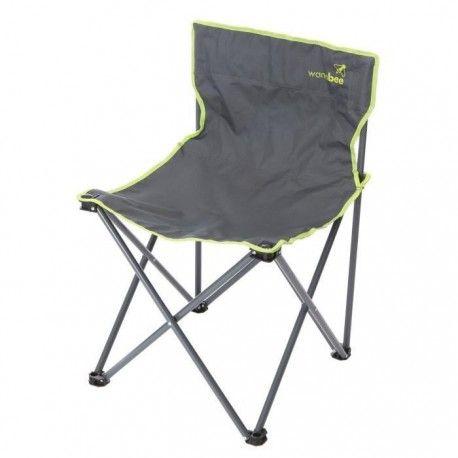 wanabee chaise de camping pliante adulte avec housse de. Black Bedroom Furniture Sets. Home Design Ideas