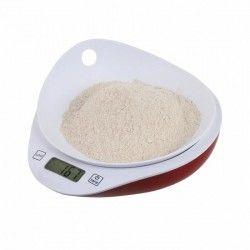 DOMOCLIP MEN352 Balance culinaire ? Rouge et blanc