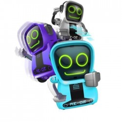 SILVERLIT Mini Robot interactif Pokibot - Modele aléatoire