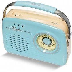 AKAI AR-78R Transistor Radio Vintage - Bleu