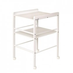 GEUTHER Table a Langer Blanche + Etagere