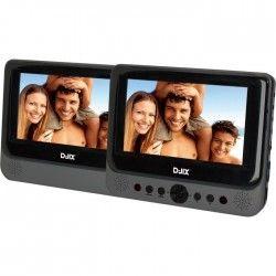 """D-JIX PVS 702-39LSM Lecteur DVD portable double 7"""""""