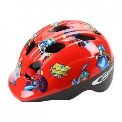 GES Casque Enfant Kid 47 / 53 Cheeky - Rouge
