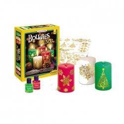 SENTOSPHERE Bougies Noël