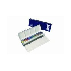 WINSOR & NEWTON blue box cotman 12 x1/2 godets