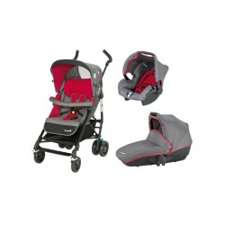 SAFETY 1ST Poussette Combinée Trio Easy Way - Red Mania
